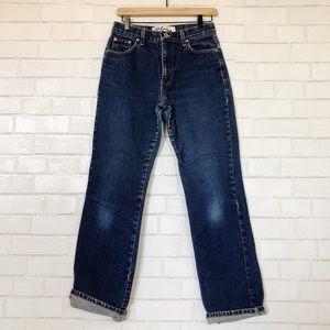 Vintage Express Bleus High Waisted Blue Jeans